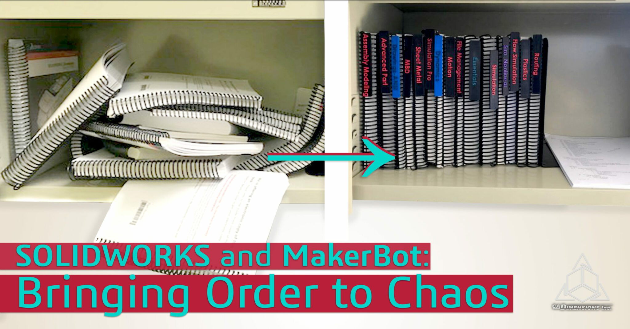 Correcting Chaos with SOLIDWORKS and MakerBot