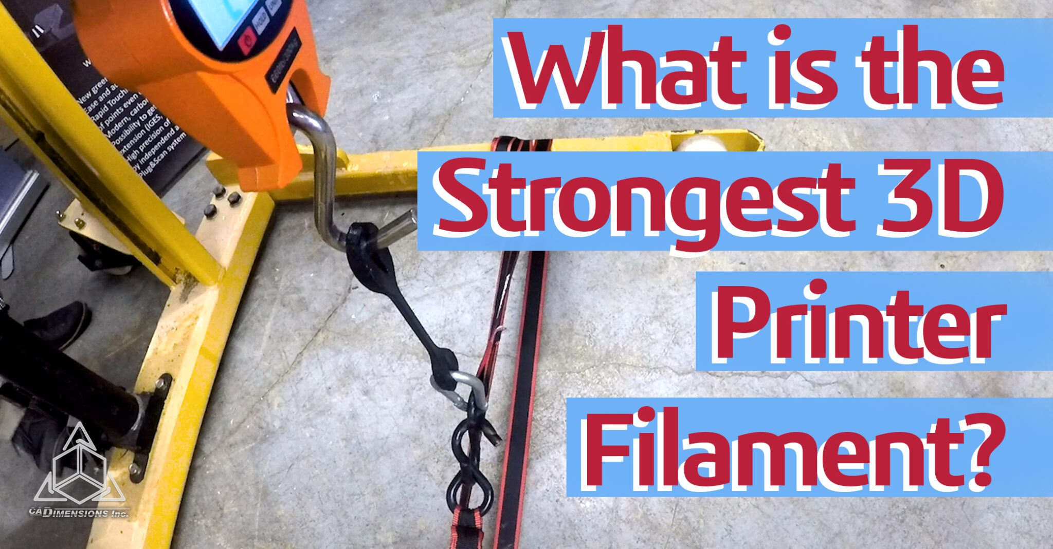Which is the strongest 3D printer filament banner