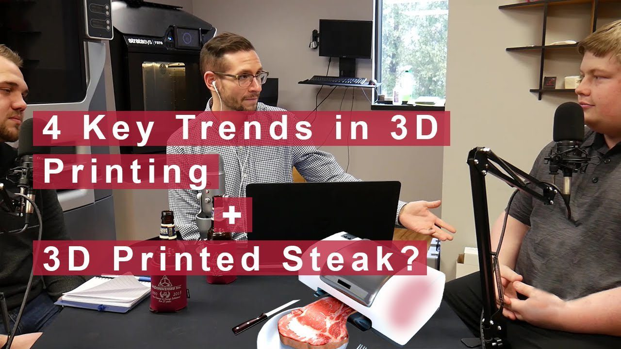 The 4 Trends in 3D Printing This Year - 3D Printed Food - Additive Manufacturing Podcast cadimensions thumbnail
