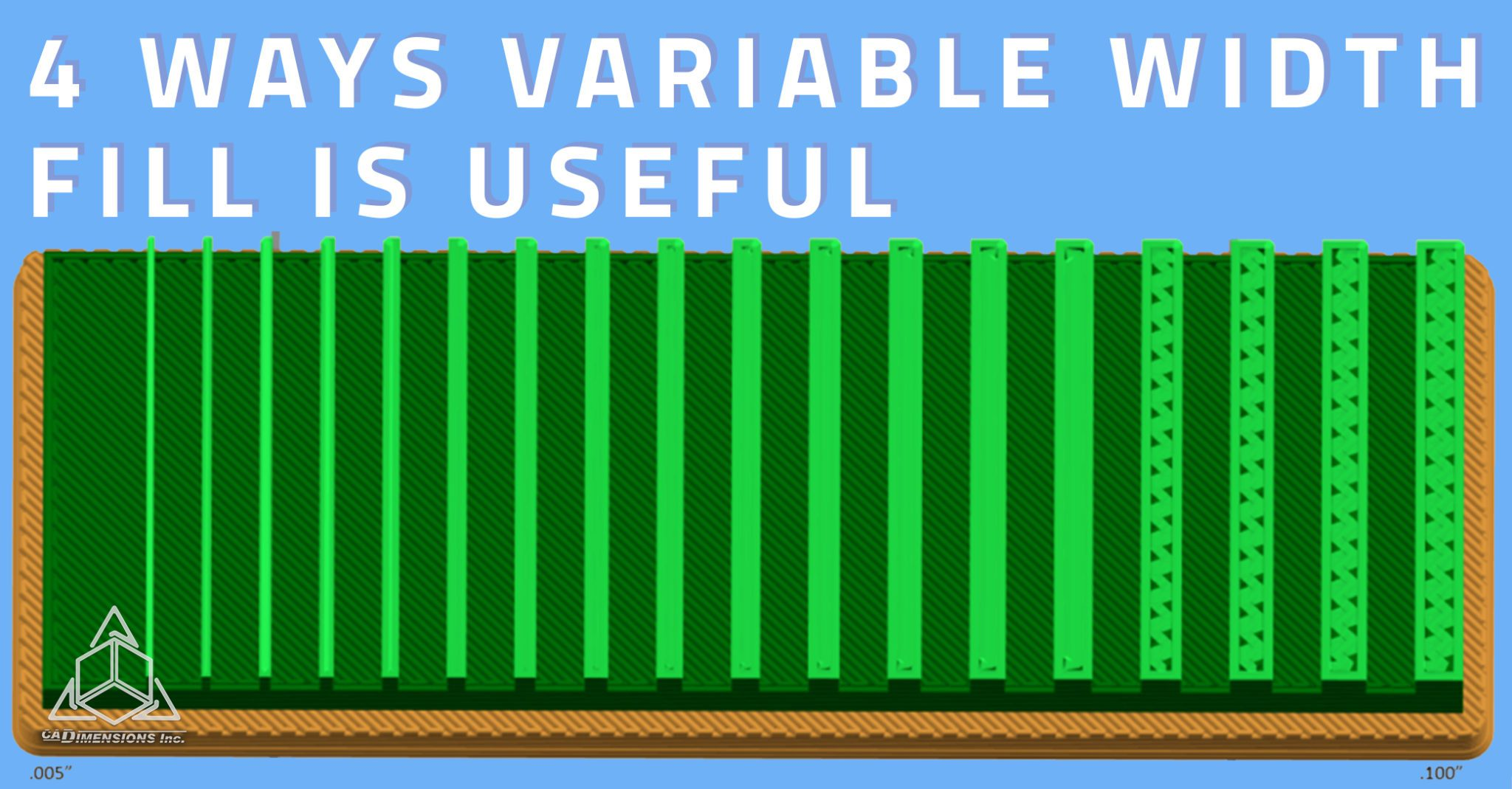 4 Ways Variable Width Fill Is Useful with CADimensions
