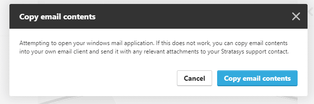 What to do if you are having a hard time getting your Stratasys Service Documents from GrabCAD