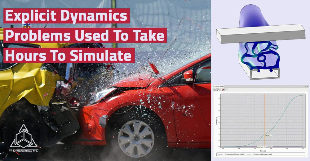 Explicit Dynamics Problems Used To Take Hours To Simulate