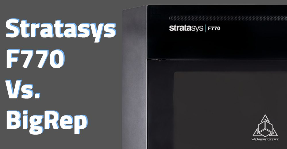 The Stratasys F770 is its accompanying software solution GrabCAD Print.